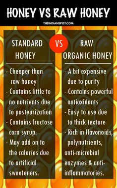 The Benefits Of Raw Honey Vs Regular Honey