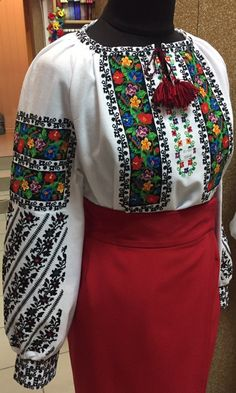 Polish Embroidery, Embroidery Patterns, Bohemian Costume, Folk Costume, Costumes, Embroidered Clothes, My Heritage, Kurti, Ukraine