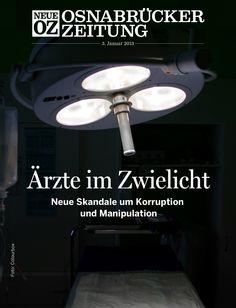 Skandale um Korruption und Manipulation: Unser iPad-Cover vom 3. Januar 2013. Weitere Infos zur NOZ-App auf noz.de/digital