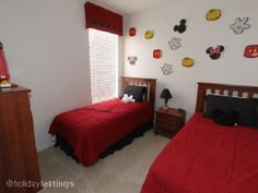 mickey mouse and friends theme bedroom ideas-mickey mouse and ...