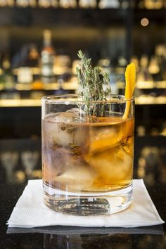 Or for something really special, try a Thyme Well Spent. | This Is How You Should Actually Be Drinking Whisky