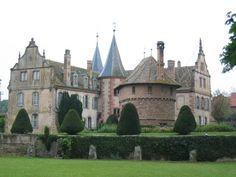 Château d'Osthoffen, Alsace, France