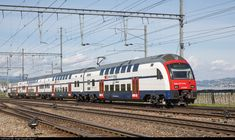 Swiss Railways, Switzerland, Trains, Electric, The Unit, Train