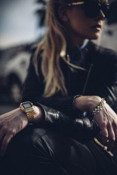 Accessories. Gold Casio Vintage watch