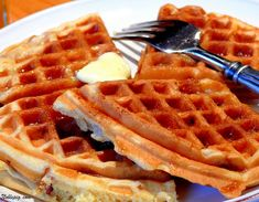 Ever since I bought my new waffle maker a couple of months ago, we have been trying all kinds of &helip;