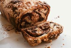 I used to get #babka from Noah's Bagels on my way home from school, on the days I wanted something a little sweeter than a bagel with cream cheese. Can't wait to try this #chocolate #cinnamon version.