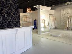Inverness Bridal Couture ||Conway, AR|| Bridal Boutique Interior, Boutique Ideas, Bridal Stores, Inverness, Decoration, Salons, Girl Fashion, Bathtub, Couture
