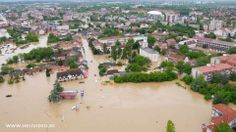 Catastrophic floods in Serbia and Bosnia
