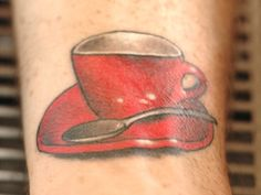Gallery: 5 Coffee Tattoos We Love Body Art Tattoos, I Tattoo, Coffee Tattoos, Just A Reminder, How To Make Coffee, Serious Eats, Our Love, Tattoo Inspiration, Tatting