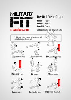 Military Fit: 30-Day Fitness Program http://fitbeautysalon.com