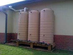 Image result for rainwater harvesting Rainwater Harvesting, Shed, Home Appliances, Outdoor Structures, Google Search, Image, House Appliances, Appliances, Barns