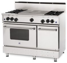 """48"""" BlueStar RNB French Top Gas Range traditional gas ranges and electric ranges AVAILABLE IN 190 COLOURS!!!!!"""