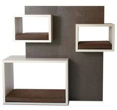 Beautifully designed by architect Marina Sciarrino. (Petsmood is a collection of furniture by Italian company Misk Design.) #PurrFect Design #cats #CatCondo #MarinaSciarrino