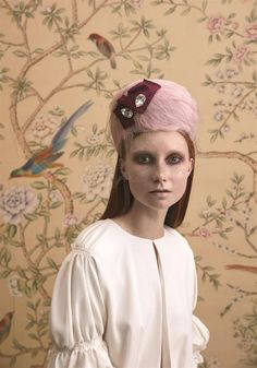 La Cocotte, Couture Hat by Prudence Millinery for Lock Couture SS2018 Collection