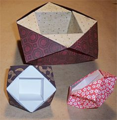 DIY Origami Cube Sonobe Style