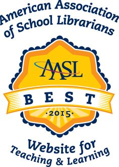 The best educational websites for teaching and learning, as recommended by the American Association of School Librarians (AASL). The various sites are grouped according to the AASL century learning standards. Middle School Libraries, Elementary Library, Elementary Schools, Educational Websites, Educational Technology, Learning Websites, Technology Websites, Technology Tools, Learning Resources