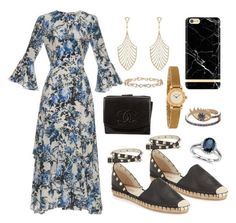 """""""""""Success is not final, failure is not fatal: it is the courage to continue that counts."""" - Winston Churchill"""" by frombelgiumwithfashion on Polyvore featuring Erdem, Chanel, Valentino, Blue Nile, Delfina Delettrez, Ileana Makri, Tiffany & Co. and whatIwouldwear"""