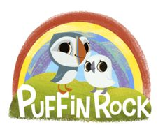 Puffin Rock- Available in the U.S. on Netflix. A precious animated series with light science themes, a main female character, and perfect pacing for the very young child. My son especially adores the baby puffin, Baba.