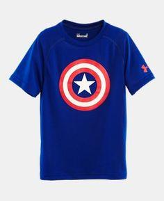 Boys' Pre-School Under Armour® Alter Ego Captain America T-Shirt