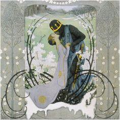 Heinrich Lefler's illustrations of Hans Christian Andersen's tales