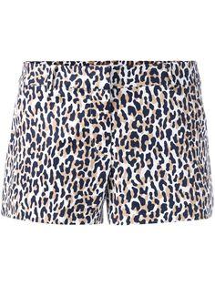 MICHAEL MICHAEL KORS Thora Animal Print Shorts. #michaelmichaelkors #cloth #shorts