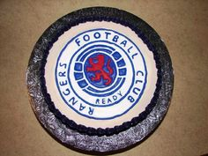 Glasgow Rangers cake Thanks to wwwshowboybakeshopcom Scottish