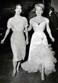 BOSOM BUDDIES - Ava Gardner & Lana Turner