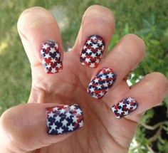 285 Best Fourth Of July Nail Art Images On Pinterest 4th Of July