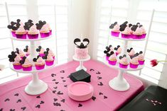 Mickey & Minnie Mouse party Birthday Party Ideas | Photo 7 of 24 | Catch My Party