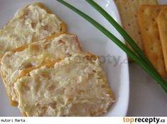 Pomazánka z pečeného česneku Ham, Macaroni And Cheese, Catering, Buffet, Brunch, Food And Drink, Appetizers, Menu, Vegetarian