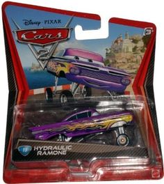$9.00 Amazon.com: Disney / Pixar CARS 2 Movie 155 Die Cast Car Hydraulic Ramone: Toys & Games