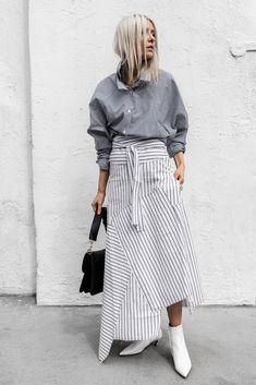 #ootd #jwanderson #jwandersonbag #Balenciaga #BalenciagaBoots #Stripes #SpringStyle #figtny