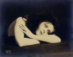 Theda Bara, sometime in the 1920s