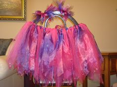 Pink & Purple tutu used for the Walk of Fame 5k 2013