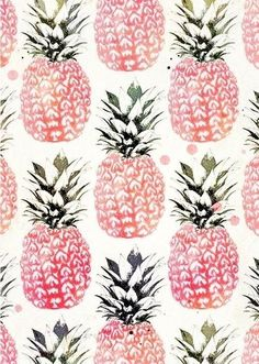 ananas summer pattern