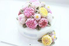 부산앙금플라워떡케이크 :: MOONIMOONI RICE FLOWER CAKE :: 친정아버지 환갑을 ...