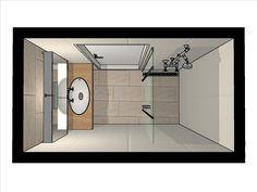 lange smalle badkamer - Google zoeken   Home   Pinterest   Small ...