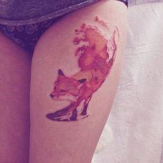 Image de fox and tattoo