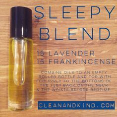 Roller Ball Remedies - with Family Physician Kit oils - Sleep #essentialoils #health