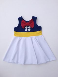Donald Duck Sailor Inspired Children's Disney by TheGypsyGeek