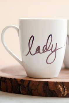 Repinned: DIY Sharpie mug