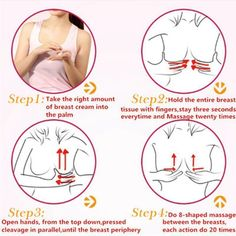 Natural Enlarge Enlargement Breast Cream Enhance Shaping Firming Bust up New New Uterine Fibroids, Ovarian Cyst, Breast Growth Tips, Firming Cream, Gym Routine, Massage Techniques, Bigger Breast, Weight Gain, Weight Loss