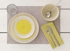 Set Of 2 Grey Placemats