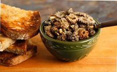French-y Picnic Recipes for Bastille Day - Morel Mushroom Toasts - CHOW.com