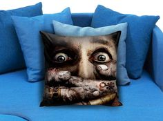 Zombie Apocalypse Dead  These soft pillowcase made of 50% cotton, 50% polyester.  It would be perfect to decorate your home by using our super soft pillow cases on sofa, chair, bench or bed.  Customizable pillow case is both comfortable and durable, improving the quality of your sleep with these comfortable pillow case, take it home now!  Custom Zippered Pillow Cases available in 7 different size (16″x16″, 18″x18″, 20″x20″, 16″x24″, 20″x26″, 20″x30″, 20″x36″)