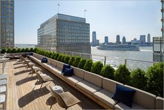 Conrad Hotel, New York   The newest rooftop bar to open in New York City is at the Conrad Hotel,