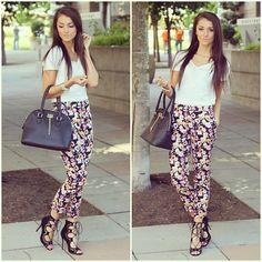 Romy Lace-up Heels tights plain v neck nice hand bag....