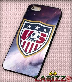 """USA Soccer Logo for iPhone 4/4s, iPhone 5/5S/5C/6/6 , Samsung S3/S4/S5 Case """"005"""""""