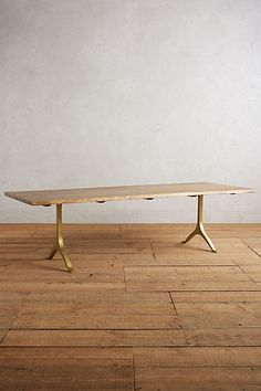 Nemus Dining Table #anthropologie @jcriccoboni great live edge table