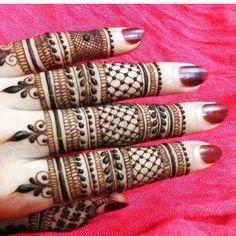 Image result for arabic finger henna design